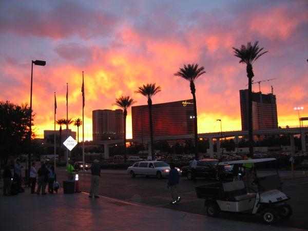 Blogworld expo Sunset